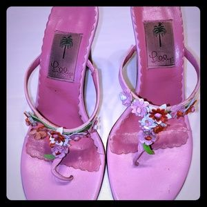 Lilly Pulitzer Pink Sandals